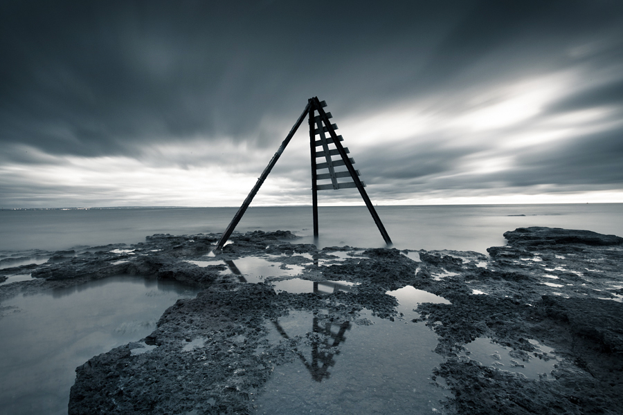 Just under a two minute exposure captured with a Canon 5D Mark II, Canon 17-40 and Cokin Z-Pro neutral density filters