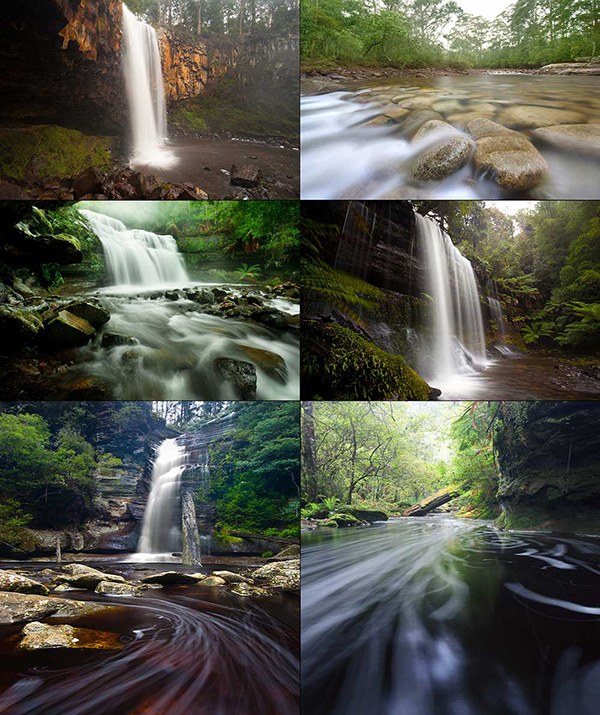 Waterfall Long Exposure Ideas