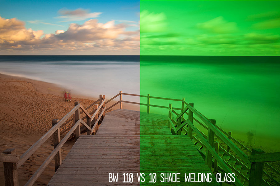 BW 110 vs Welding Glass