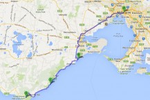 Our photography route down the Great Ocean Road with a detour via Jan Juc and the Great Otways National Park
