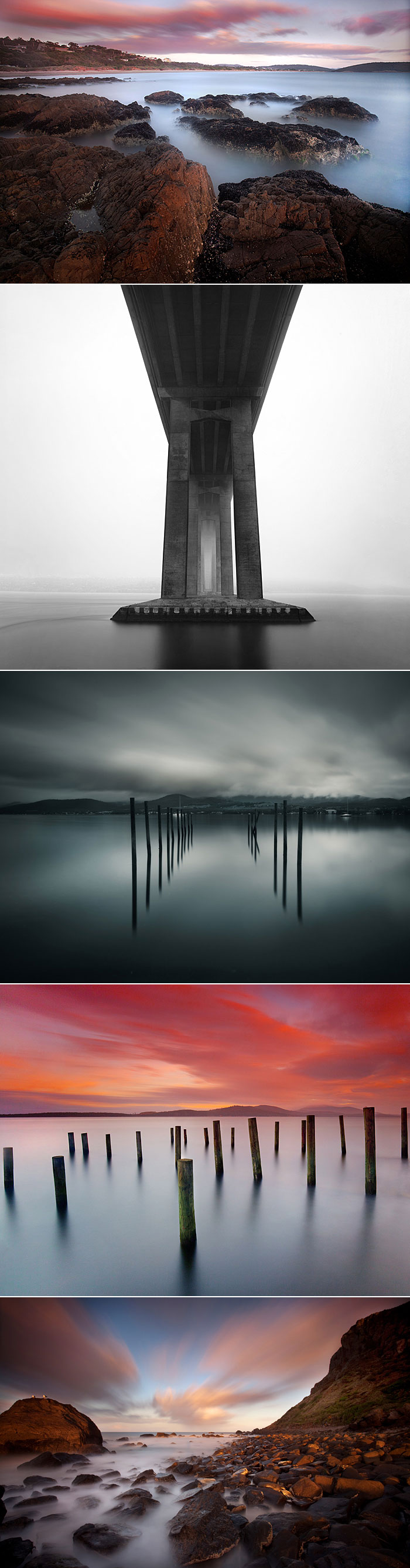 Photographs taken with neutral density filters referred to in this article