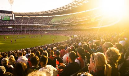 Afternoon at the MCG