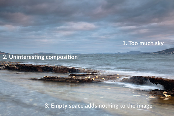 Howrah Beach, Tasmania - Shooting before I thought about the scene