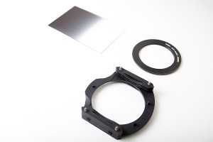 An example of a graduated neutral density filter