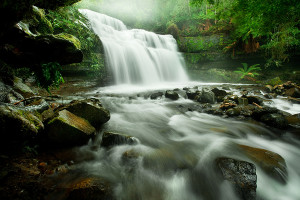 A tripod is a must for capturing that smooth water affect you see in waterfall photographs