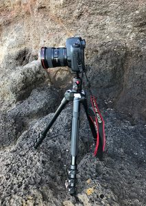 Shooting seascapes with the Canon 5D Mark II, Canon 17-40 and the Manfrotto Befree