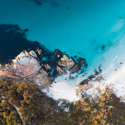 Bay of Fires aerial
