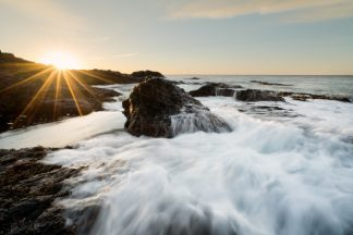First light at Flinders Blowhole