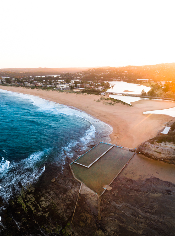 One of the beautiful ocean pools at Narrabeen, NSW