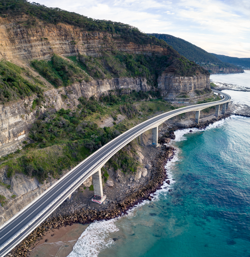The awesome Sea Cliff Bridge, NSW